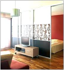 Bedroom Divider Ideas Studio Apartment Dividers Modern Studio