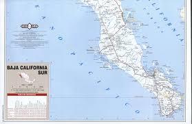 Baja Map Baja California Sur Road Mapfree Maps Of North America