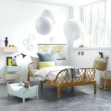 chambre en rotin chambre enfant lit en rotin suspension boule blanche lit de bacbac