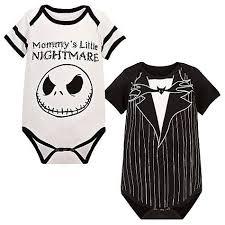 nightmare before onesie decorating baby