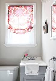 bathroom amazing curtain ideas for bathroom home design popular