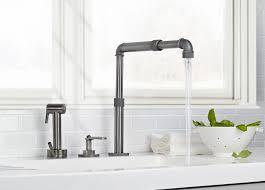 industrial style kitchen faucet faucet design silver industrial style kitchen faucet centerset