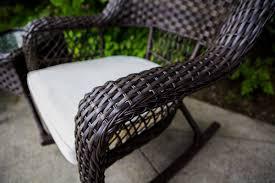 Rocking Chair Makers Sol Siesta Veranda 3 Piece Rocking Chair Set With Cushions