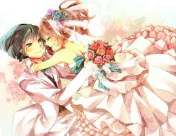 wedding dress anime anime in wedding dresses 65 with anime in wedding