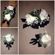 Black And White Corsage Diy Corsage And Boutonniere Probrains Org