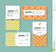simple business card template cover flyer leaflet template