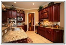 what color paint goes with brown kitchen cabinets paint colors for kitchens with wood cabinets cherry