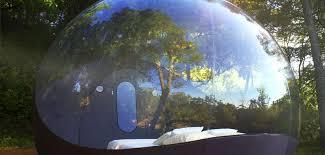 bulle chambre maisons bulles pont esprit voyage insolite