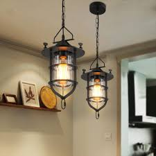 american country style pendant lights wood pendant lamps led warm