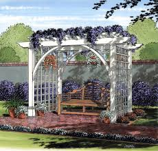 Arbor Trellis Plans Project Plan 504889 Garden Arbor