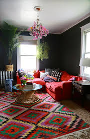 living room red couch 23 colorful sofas to break the monotony in your living room homelovr