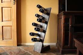 how to make a super easy diy freestanding wine rack woodwork junkie