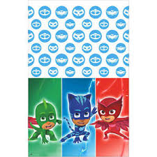 pj masks plastic table cover birthday party supplies decorations