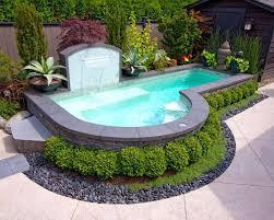 Backyard Above Ground Pool by Best Way Landscape Around Above Ground Pool Above Ground Pool