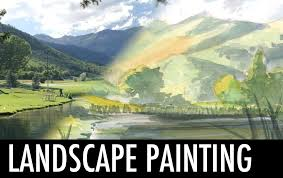 Light And Landscape - landscape painting part 1 light and shadow youtube