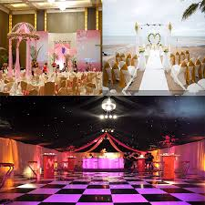 wedding event backdrop rk wedding black white floor event pipe and drape