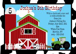 farm birthday invitations plumegiant com