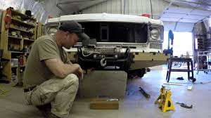 survival truck bug out vehicle k 5 blazer build ep9 start bumper build youtube