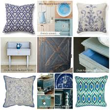 blue is trending u0026 bella b decor has plenty in paint accessories and