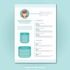 pretty resume template free turquoise resume cv template greenish