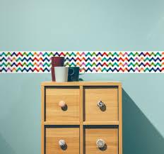 frise pour chambre adhésifs frises pour chambre tenstickers