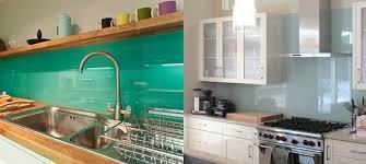 Kitchen Backsplash Ideas That Refresh Your Space - Solid glass backsplash