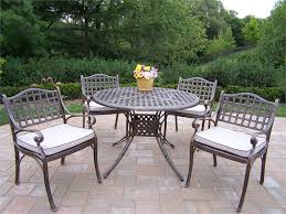 modern style patio furniture dining set with metal furniture metal
