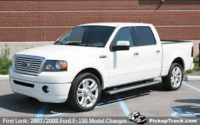 2008 ford f150 limited pickuptruck com look 2007 and 2008 ford f 150 model changes