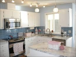 gray and white backsplash tile dark cabinets high gloss kitchen