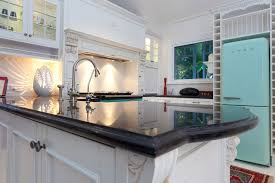 granite countertop black and white kitchen cabinets pictures bar