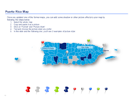 Map Of Puerto Rico Download U0026 Reuse Now Editable Powerpoint Puerto Rico Map Templates