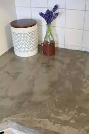 this brilliant diy is the easiest way to fake concrete countertops