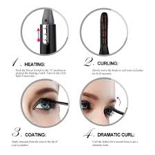How To Curl Your Eyelashes Amazon Com Touchbeauty Portable Electric Eyelash Curler With