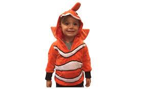 Finding Nemo Halloween Costumes Halloween Costumes Kids Nemo Costume Clownfish Hoodie Boys Costume