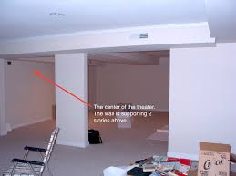 home theater in basement design ideas how to design a home theater in a low ceiling space