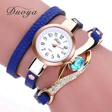 luxury bracelet watches images Duoya brand watch women luxury gold eye gemstone dress watches jpg