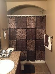 bathroom sets ideas leopard bathroom accessories for safari look animal print