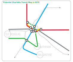 Map Of Charlotte Airport Cats Wants To Hire A Consultant To Plan Next Phase Of Light Rail