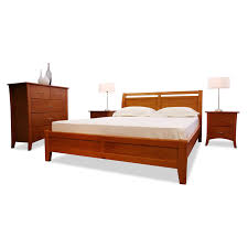 rio double bed frame walnut beds online