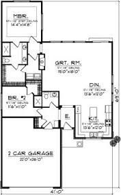Small Bungalow Style House Plans by Country Style House Plans 1400 Square Foot Home 1 Story 3