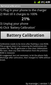 calibrate your battery the easy way with battery calibration for - Android Battery Calibration