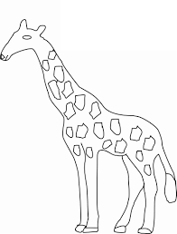 fresh giraffe coloring pages best and awesome 1073 unknown