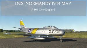 Normandy Map Dcs Normandy 1944 Map F 86f Over England Youtube