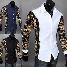 hawaiian button down floral casual shirts u0026 tops for men ebay