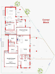 Corner Lot Floor Plans Designs