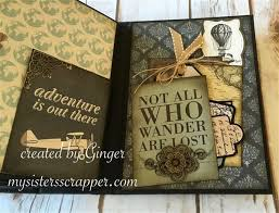 travel photo albums mini album inspirational projects gallery butterbeescraps