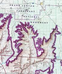 Arizona Blm Map by Trail Map Of Grand Canyon National Park Grand Canyon West