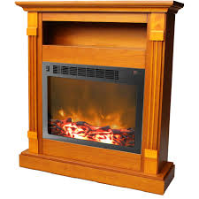 Amazon Com Cambridge Sienna Fireplace Mantel With Electronic