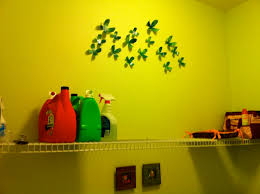 cool wallflowers by umbra for light green wall decor in laundry