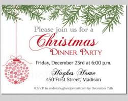 christmas party invitation template christmas dinner party invites templates search